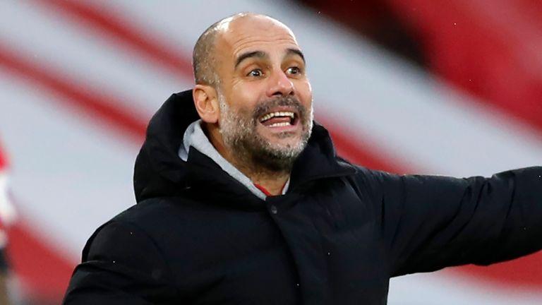 Pep Guardiola is hoping to beat City 1-0 at Southampton