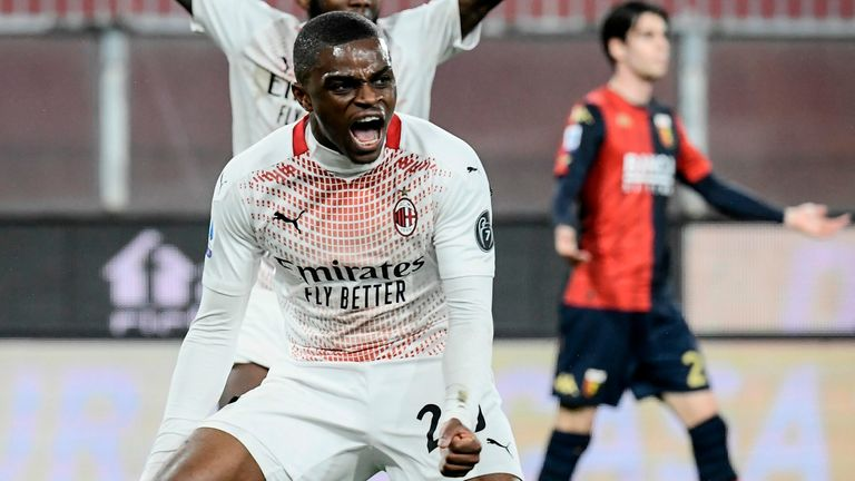 Pierre Kalulu rescued a point for AC Milan
