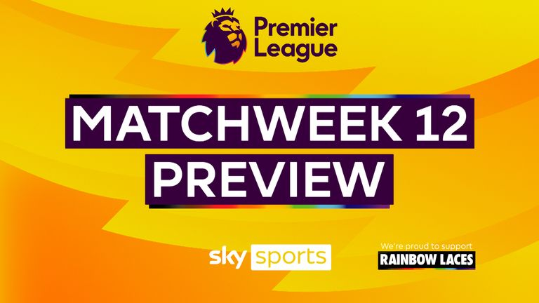 Premier League MW12 Preview