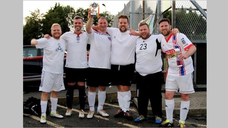 Portly Vale - Peter Eatough, Neil Procter, David Emery, Mike Swash, Nik Gittins, Lee Parker - Rainbow Laces