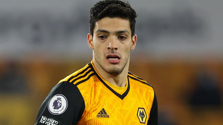 Wolves striker Raul Jimenez