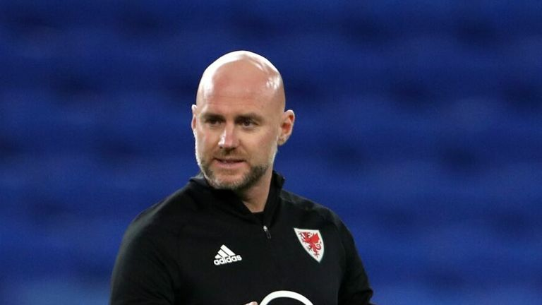 Wales caretaker manager Rob Page