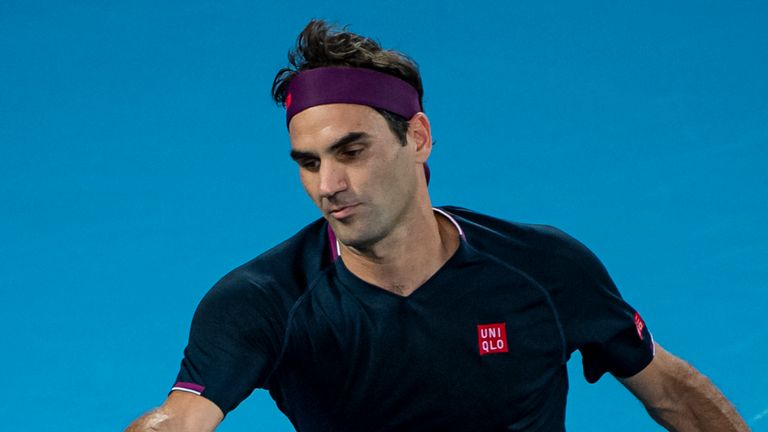 Roger Federer has not played competitive tennis since the Australian Open in January