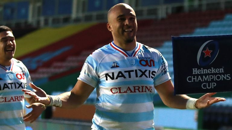 Simon Zebo is returning to Ireland after three seasons with Racing 92