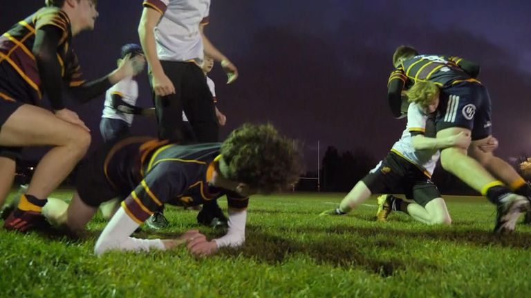 Some medics are concerned about the long-term impact of tackling on youngsters