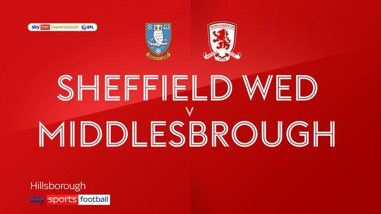 Sheffield Wednesday v Middlesbrough badge