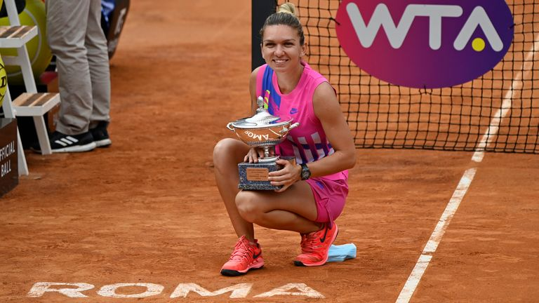 Simona Halep won in Rome earlier this year - a Premier 5 event which will become a WTA 1000 tournament from 2021