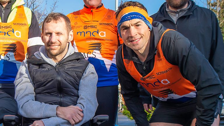 Kevin Sinfield talks to Sky Sports about his greatest ever challenge, and his friendship with Rob Burrow