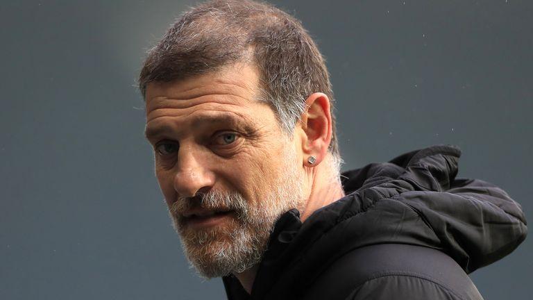 West Brom head coach Slaven Bilic