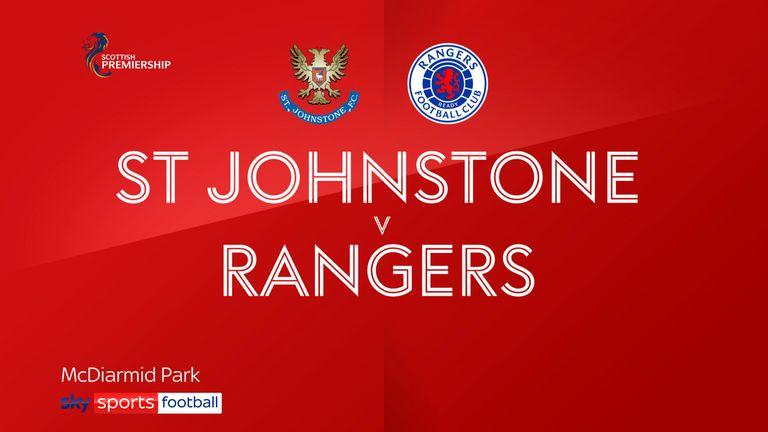 St Johnstone 1-3 Rangers