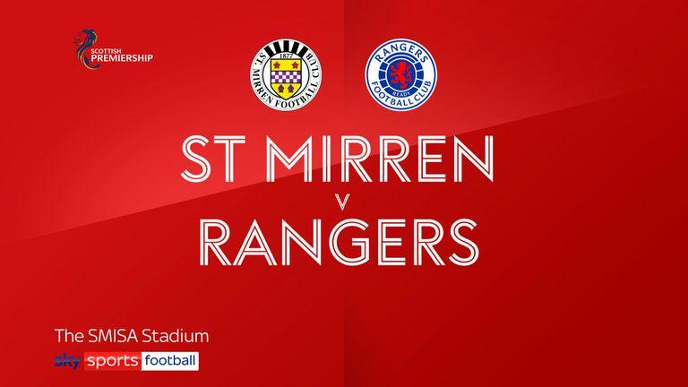 St Mirren 0-2 Rangers