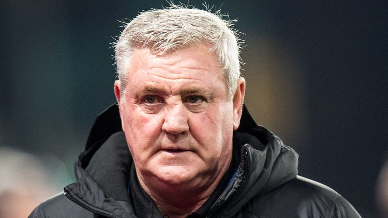 Newcastle United boss Steve Bruce has seen his squad ravaged by coronavirus