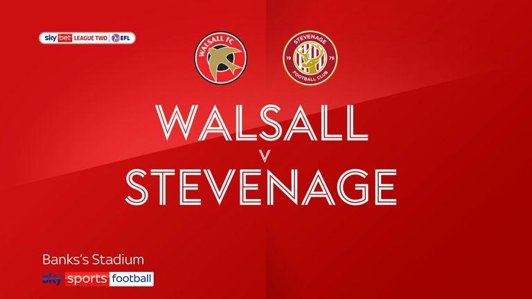 Walsall v Stevenage