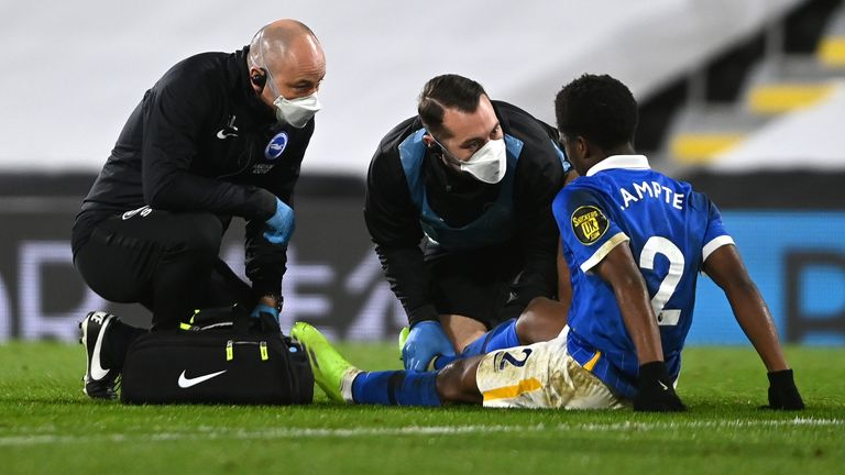 Tariq Lamptey is currently sidelined with a hamstring injury