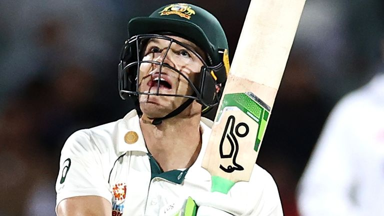 Tim Paine rallied Australia on day two with an unbeaten 73