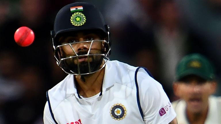 Virat Kohli Run Out For 74 As Australia Edge Day One Of First Test India Close On 233 6 Cricket News Sky Sports