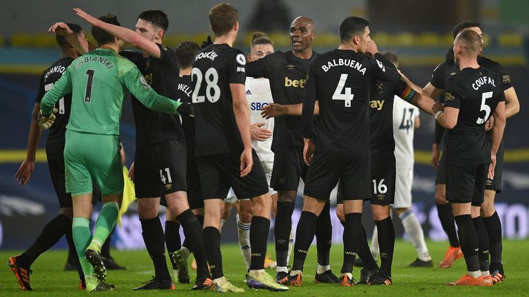 Victory at Leeds saw West Ham move up to fifth