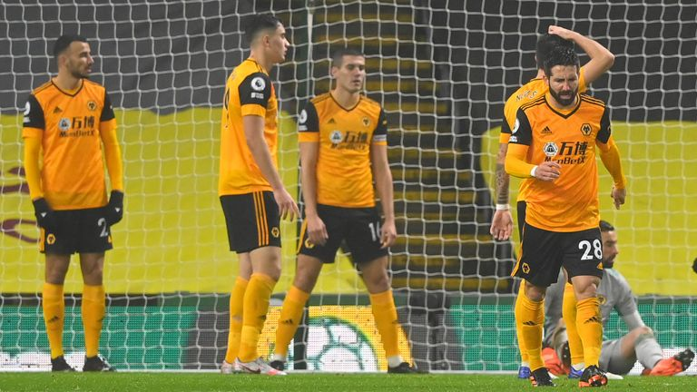 Wolves players have been banned from shopping amid a new coronavirus surge