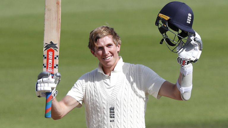 Zak Crawley - will he open or bat at No 3 for England in Sri Lanka