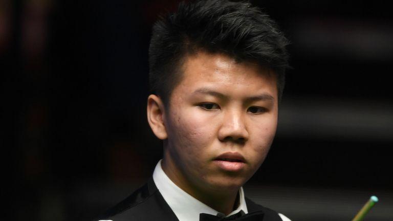 China's Zhou Yuelong has a bright future ahead of him, according to John Higgins