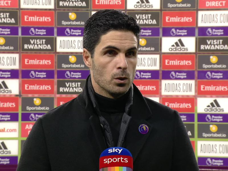 Edu tells Arsenal fans to back Mikel Arteta and reveals club will not spend big in January   Football News   Sky Sports