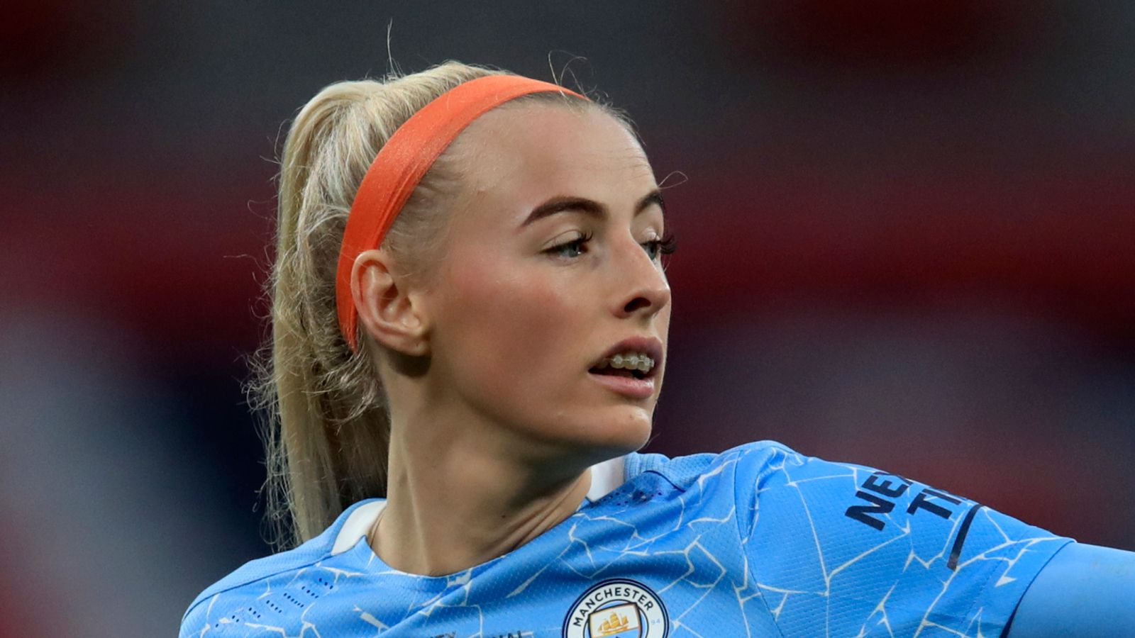 Chloe Kelly: Man City forward `excited` to be competing...