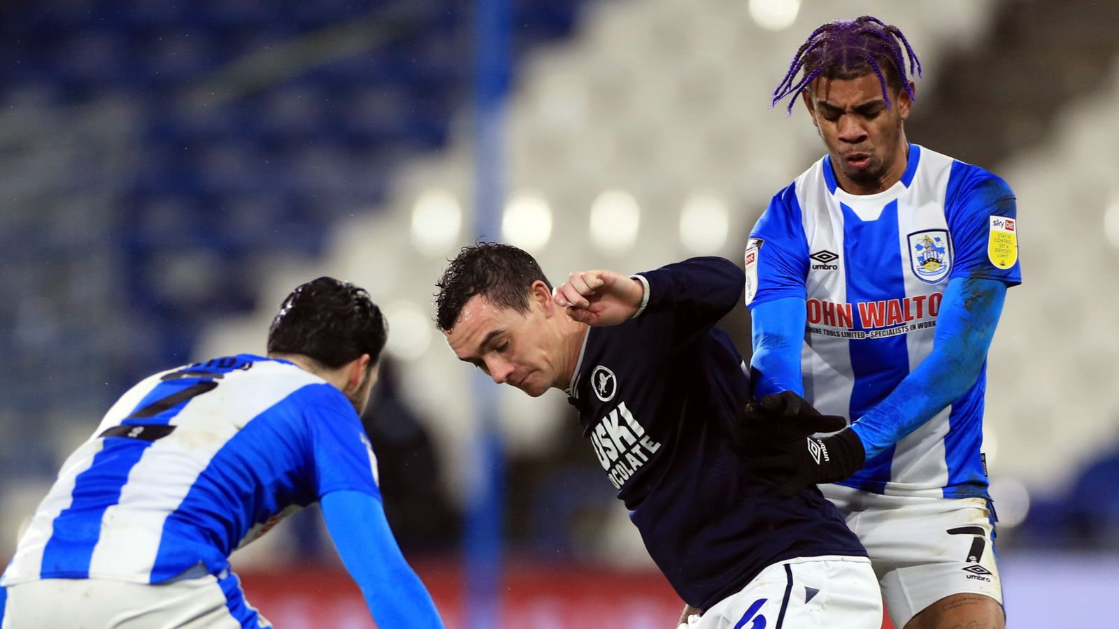 Huddersfield 0-1 Millwall: Scott Malone hits Lions winner - Sky Sports