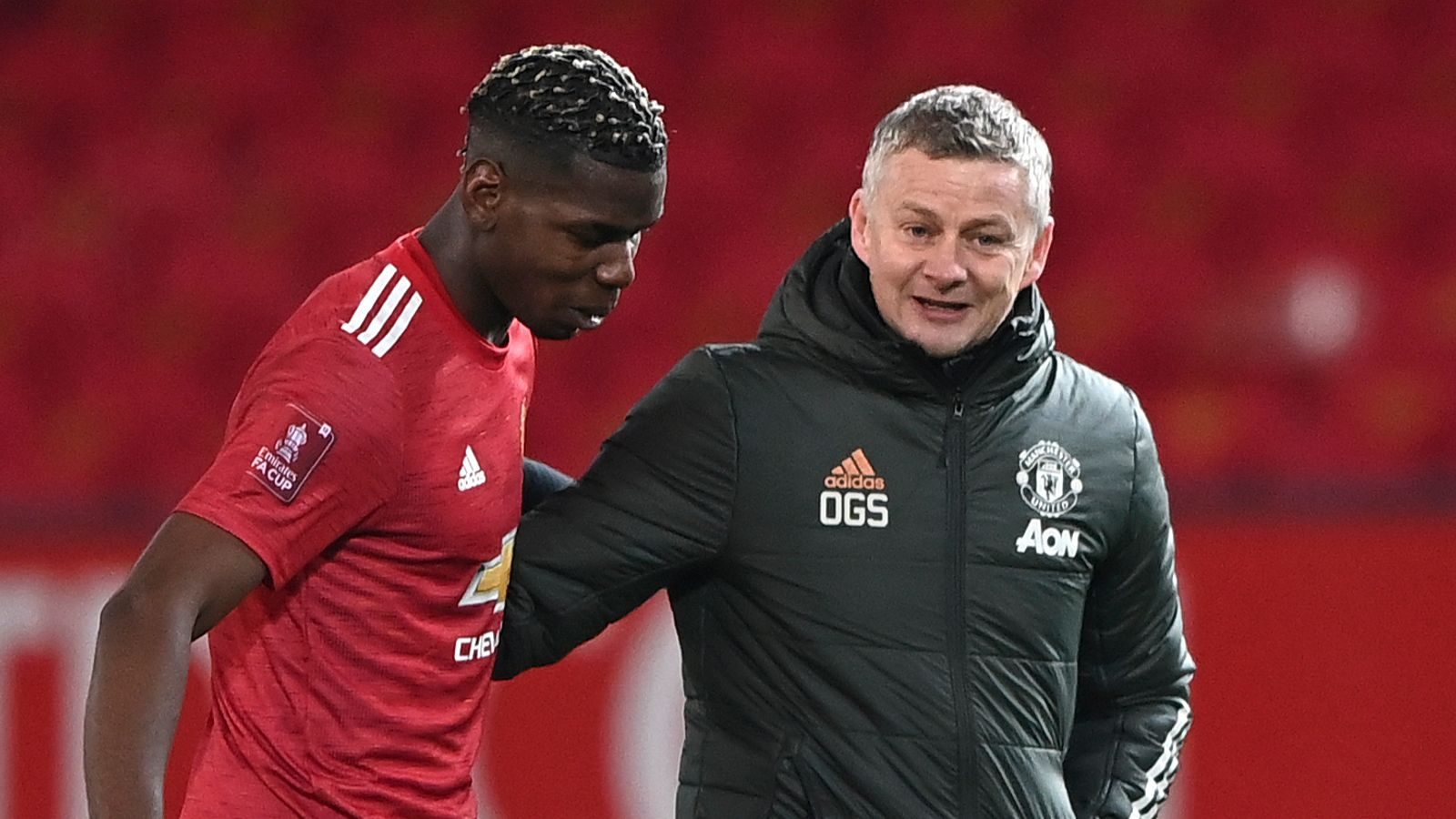 Paul Pogba: Manchester United have 'open dialogue' with midfielder over his future, says Ole Gunnar Solskjaer