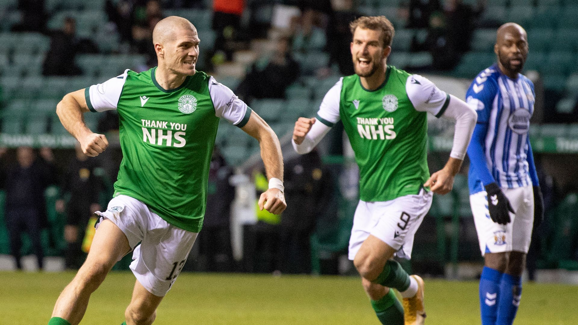 Hibs up to third with Kilmarnock win