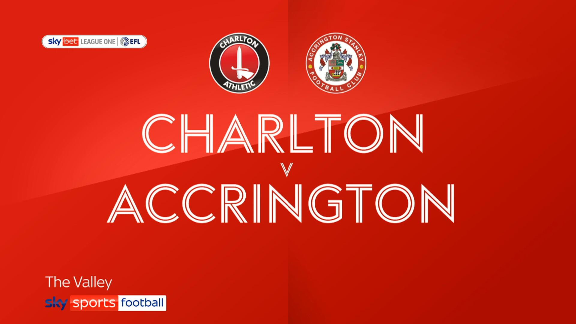 Accrington up to fifth after win at Charlton