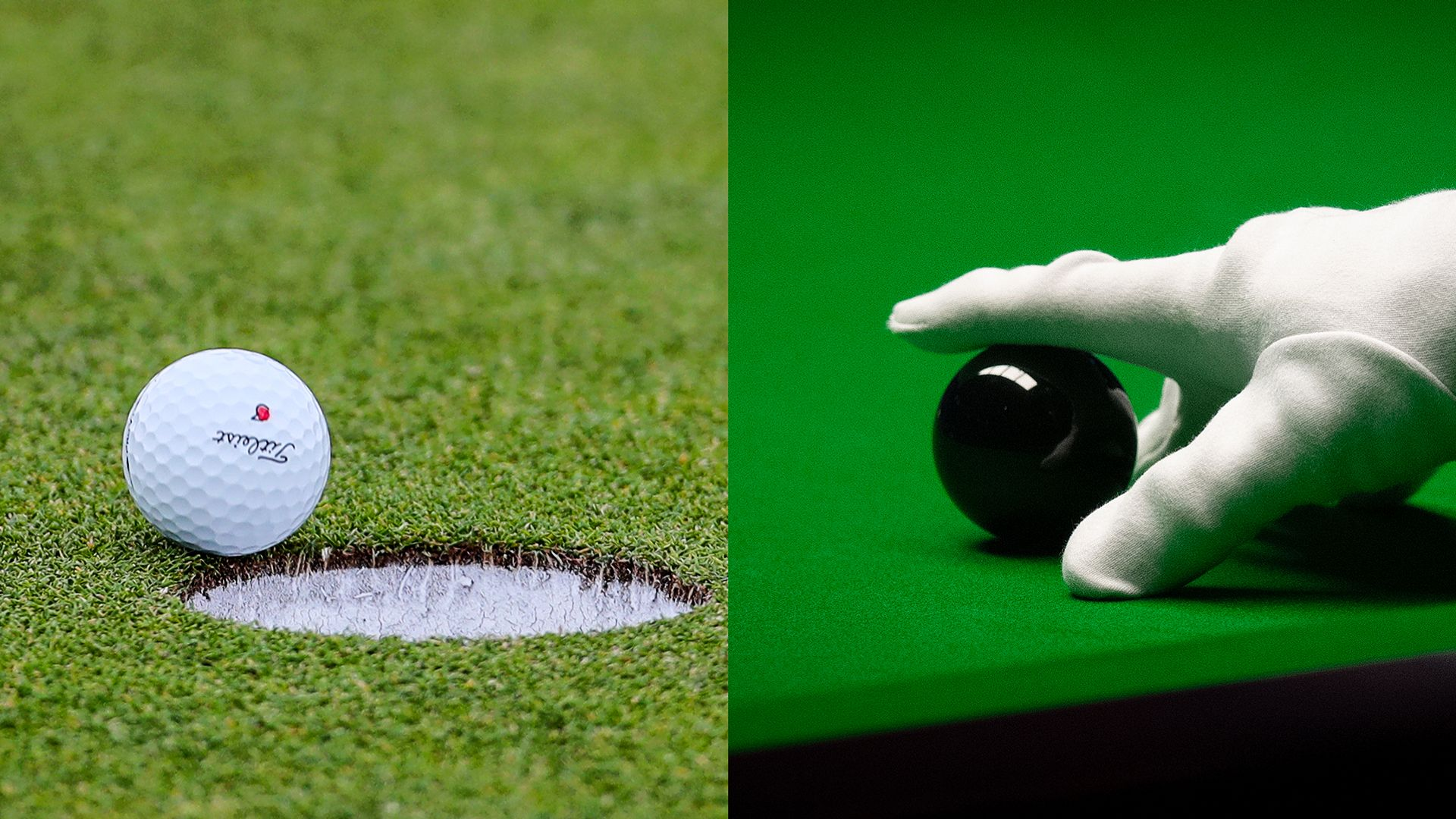Golf or snooker: Which is harder?