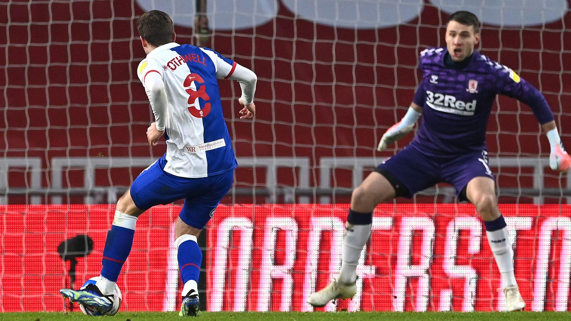 Rothwell hands Blackburn controversial victory at Boro