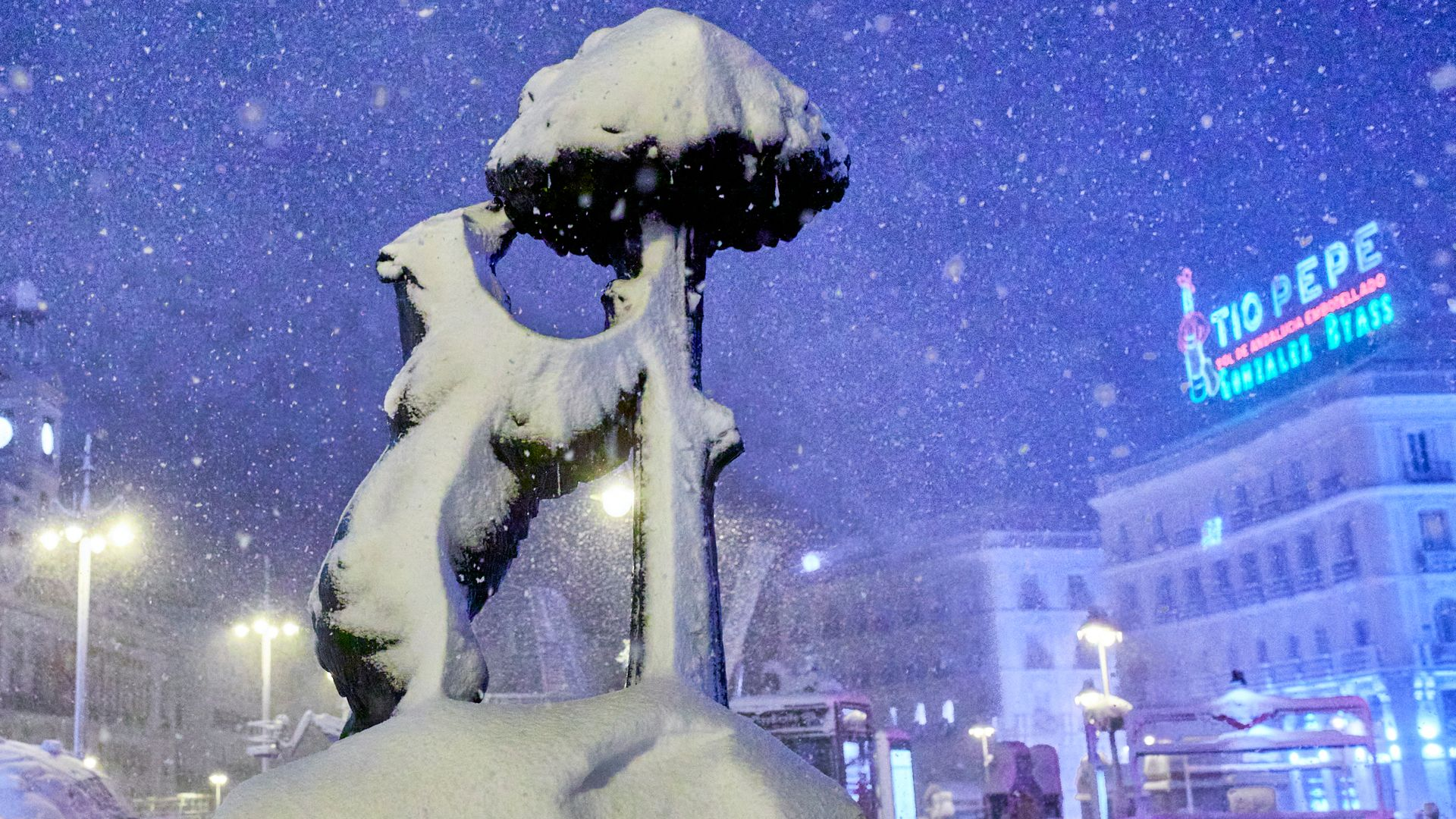 Atletico game off as snowstorm hits Spain