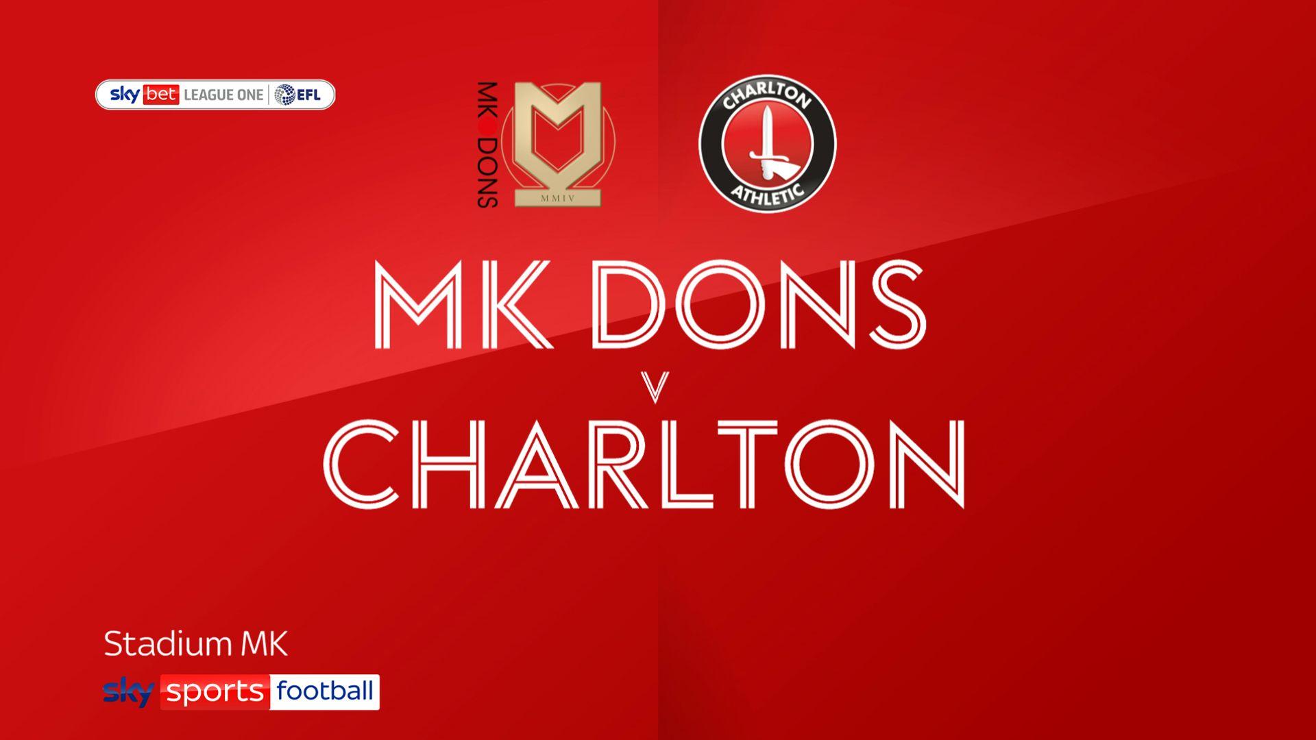 Charlton sneak past MK