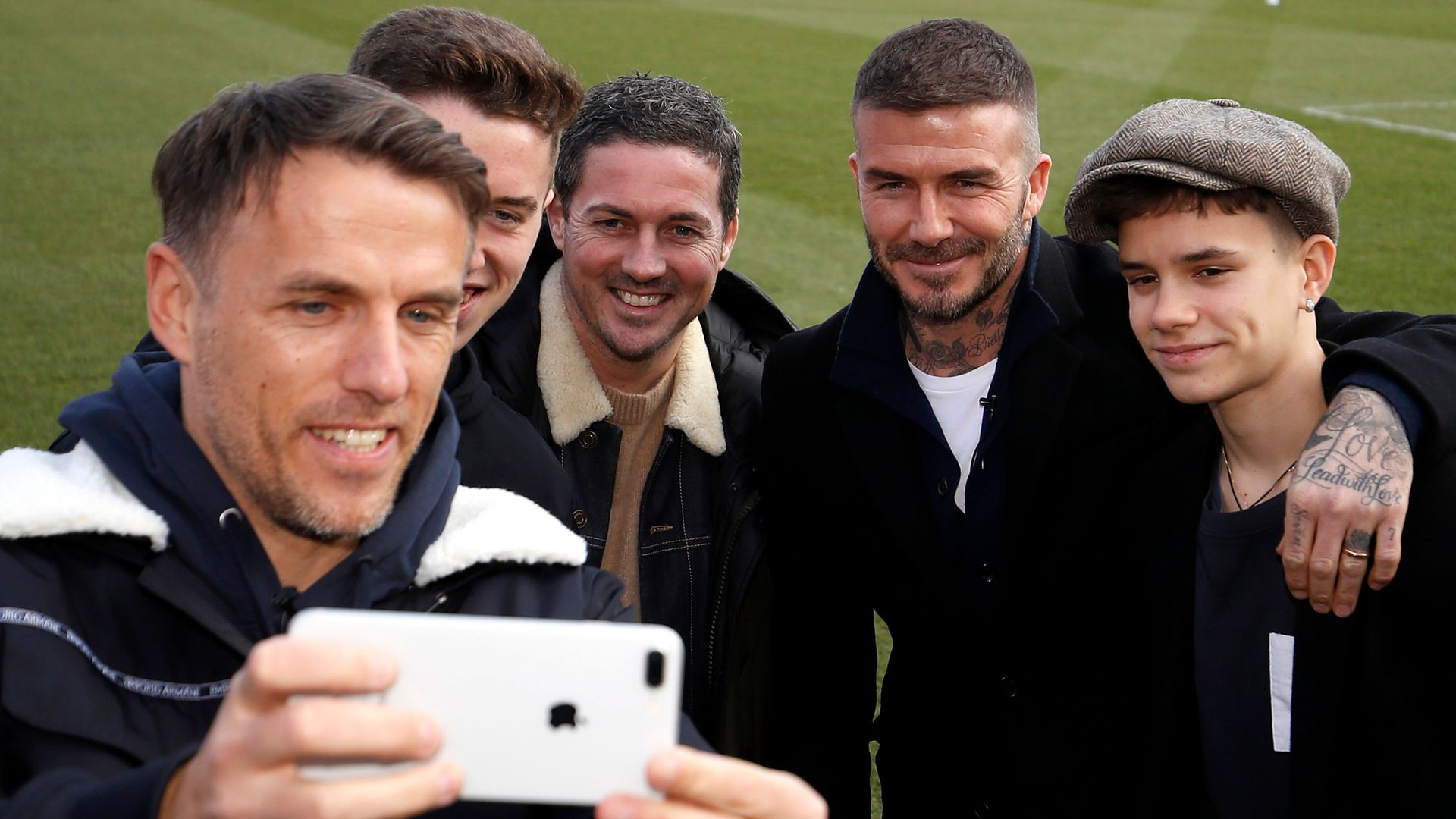 Beckham defends Neville appointment: It's not about friendship