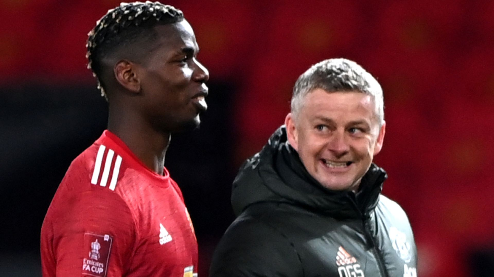 Solskjaer: Man Utd still in contract talks with Pogba