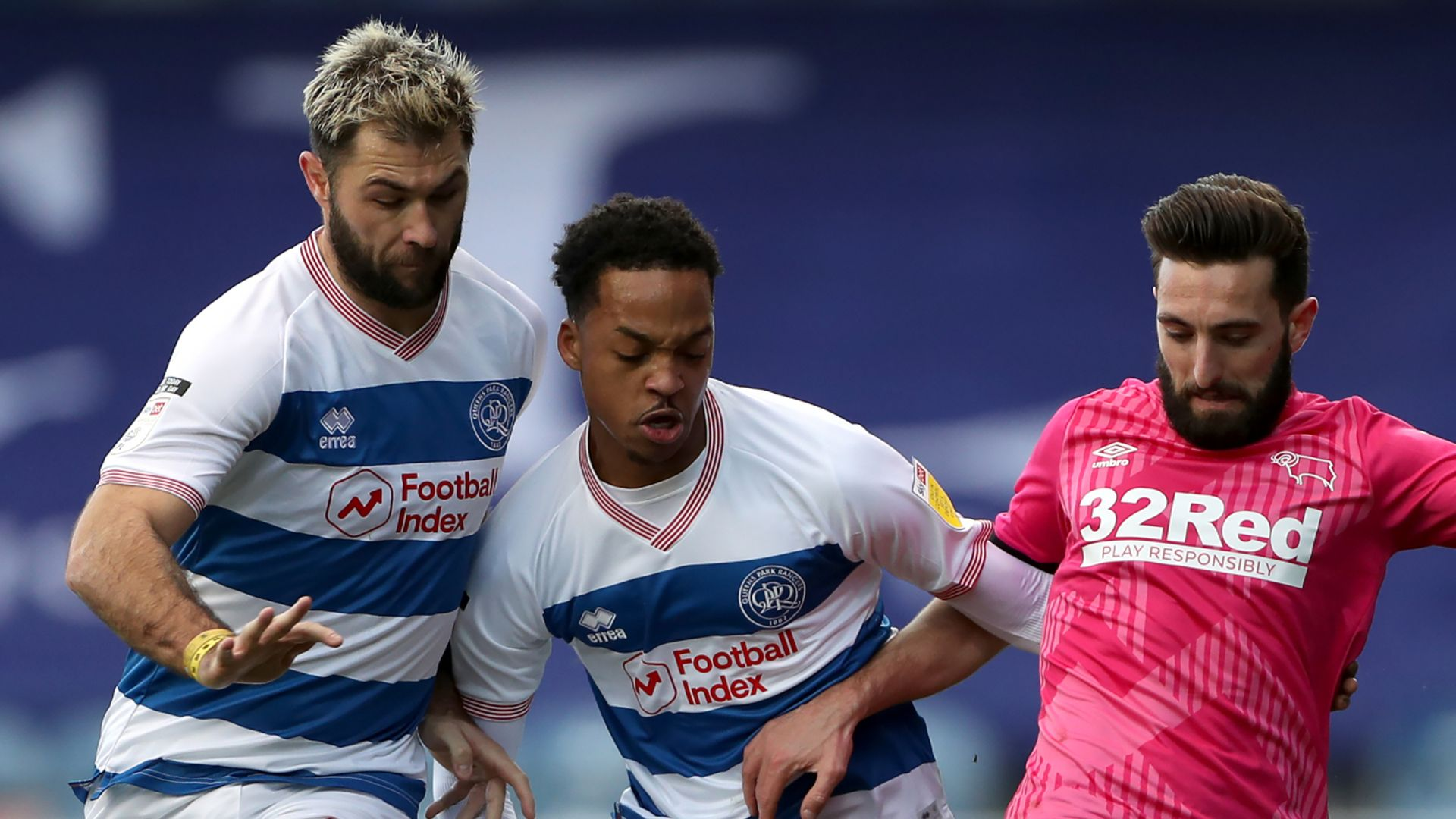 Derby sneak narrow win at QPR