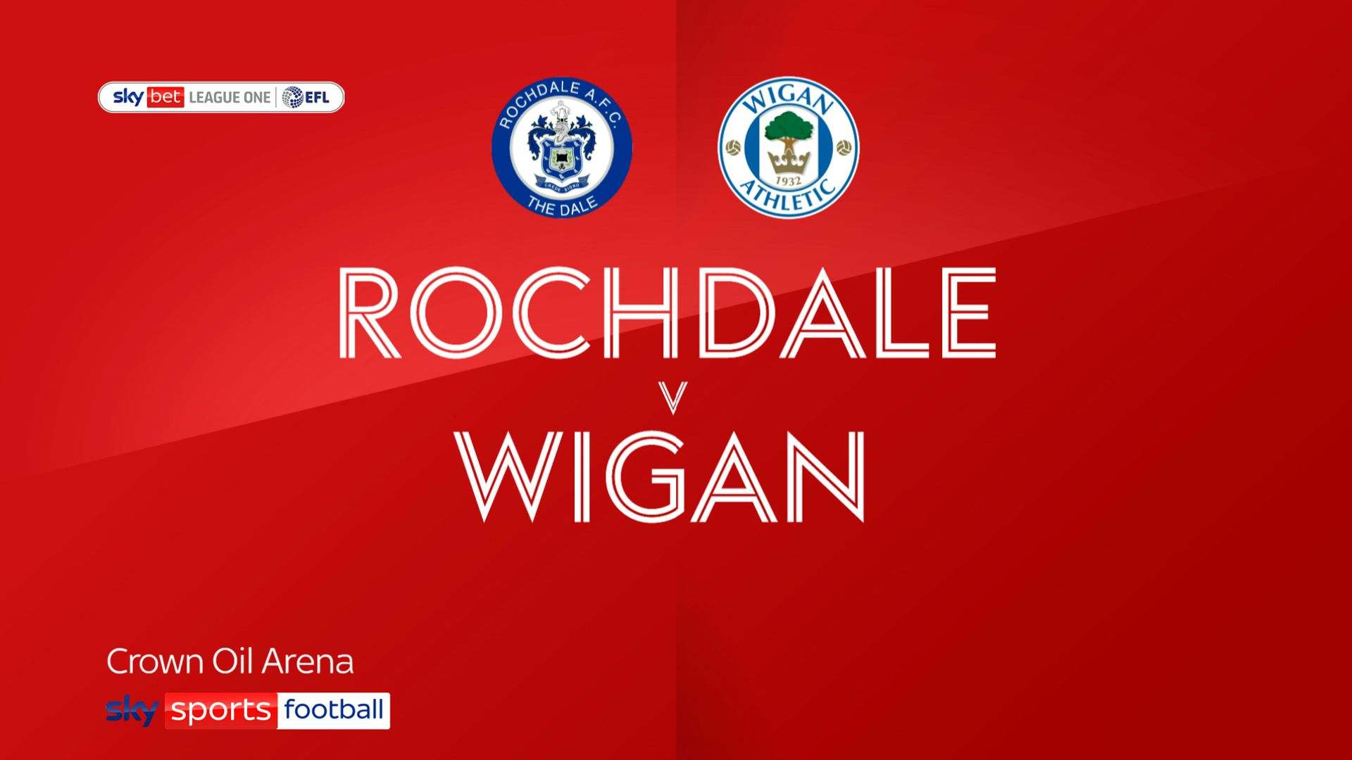 Rochdale hold Wigan in six-goal thriller