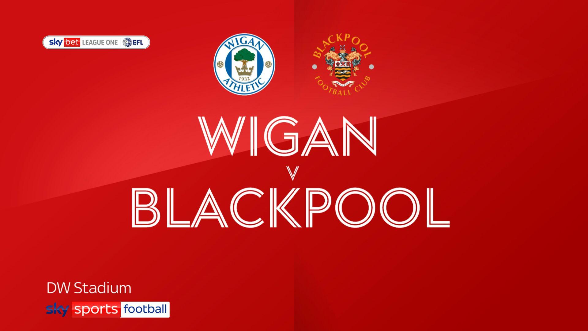 Five-star Blackpool thrash Wigan