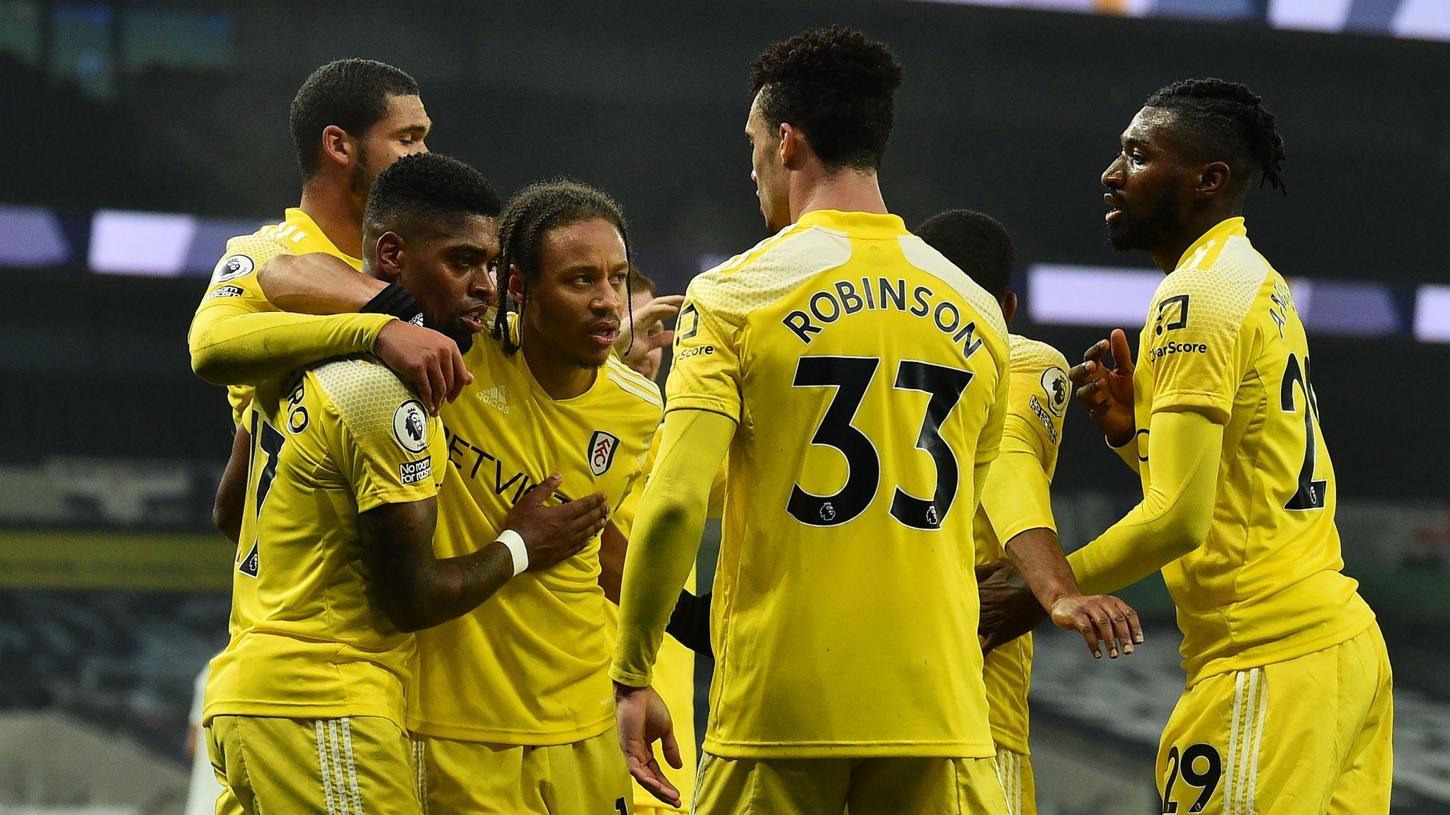 Tottenham 1-1 Fulham: Ivan Cavaleiro equalises as Spurs drop more points | Football News | Sky Sports