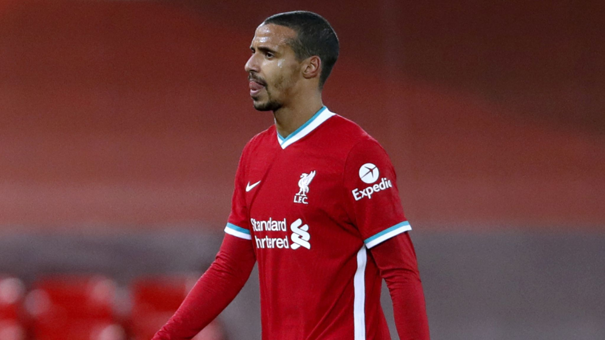 Joel Matip: Liverpool defender returns to training ahead of Manchester  United game   Football News   Sky Sports