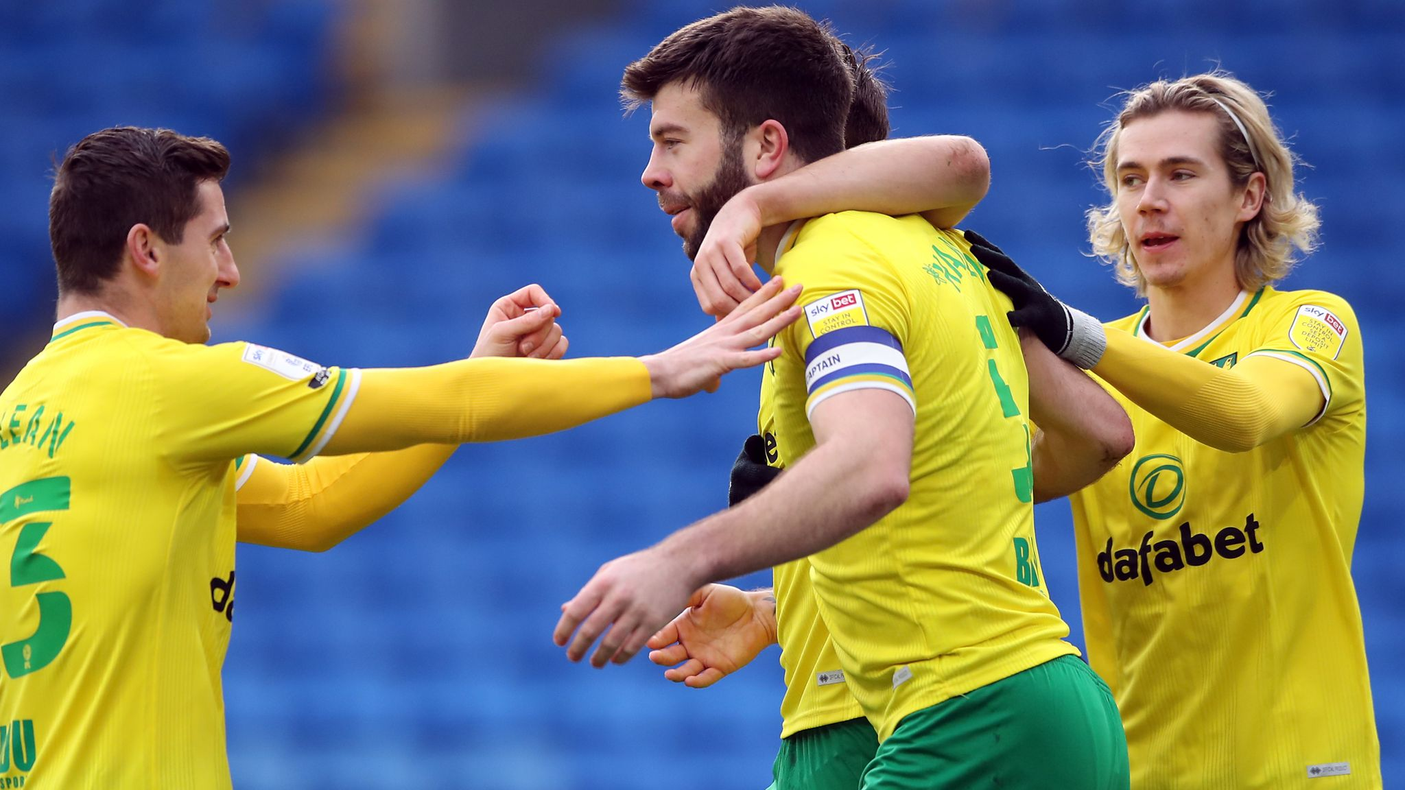 Cardiff City 1-2 Norwich City: Canaries march at top of Championship continues