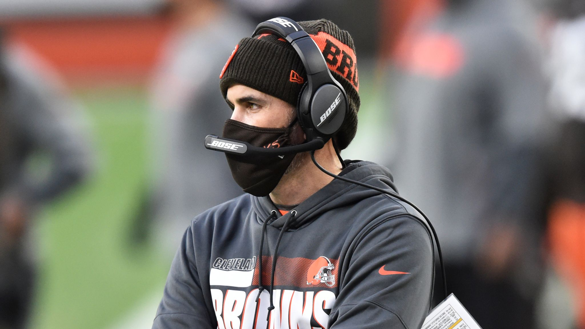 Cleveland Browns coach Kevin Stefanski and two players test positive for  coronavirus | NFL News | Sky Sports