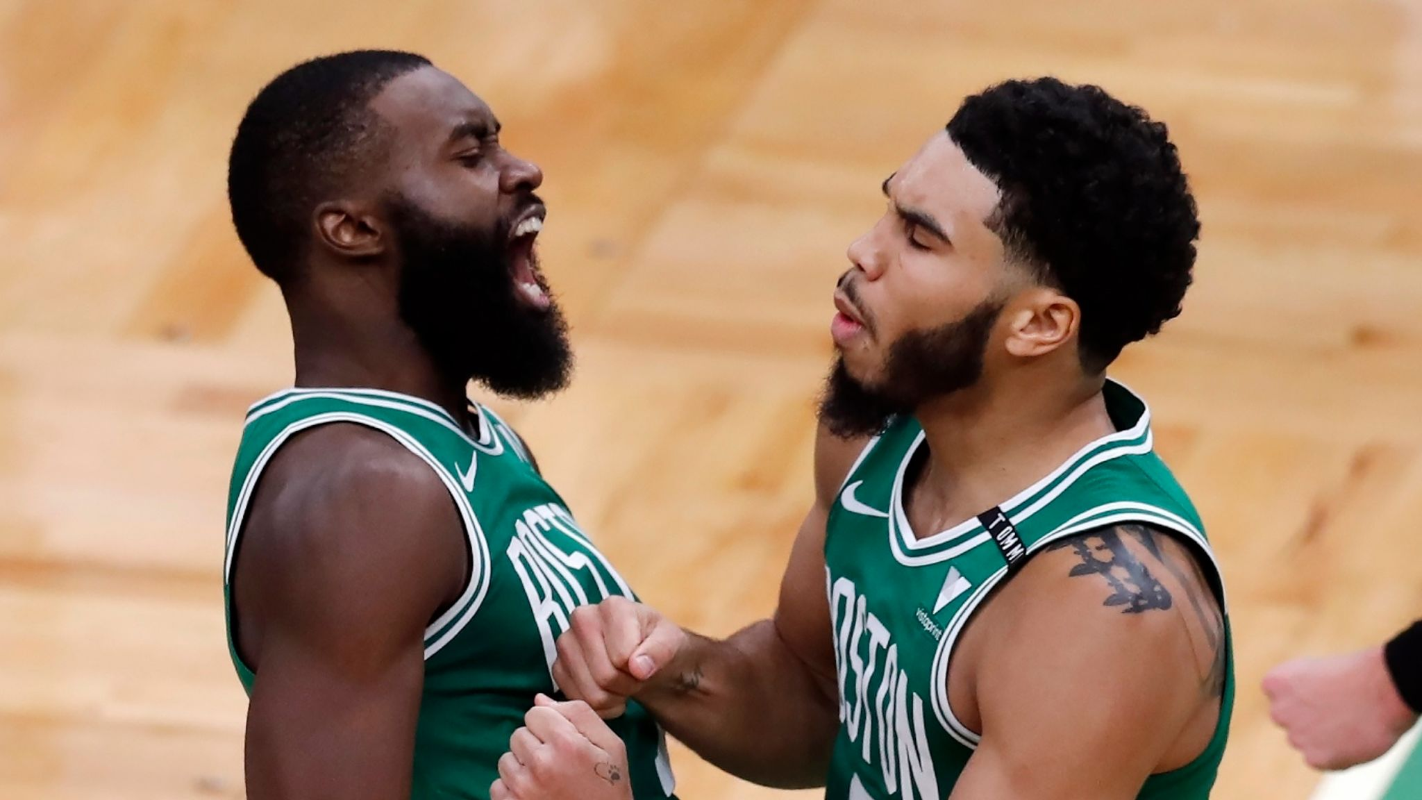 Boston Celtics Jayson Tatum Jaylen Brown Starring But Are Two Leaders Always Better Than One Nba News Sky Sports