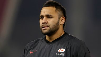 Billy Vunipola says he wants to 'take advantage of every game' he gets