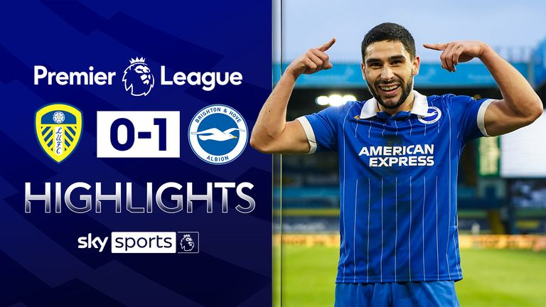 FREE TO WATCH: Highlights from Brighton's win against Leeds in the Premier League.