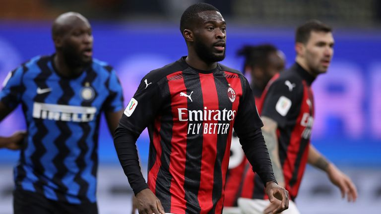 Fikayo Tomori is excited by the prospect of helping AC Milan challenge for the Serie A title