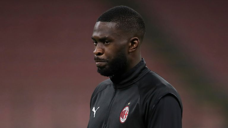 Fikayo Tomori was an unused substitute as AC Milan were beaten by Atalanta