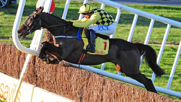 Al Boum Photo and Paul Townend coming home to win the Savills New Year's Day Chase at Tramore