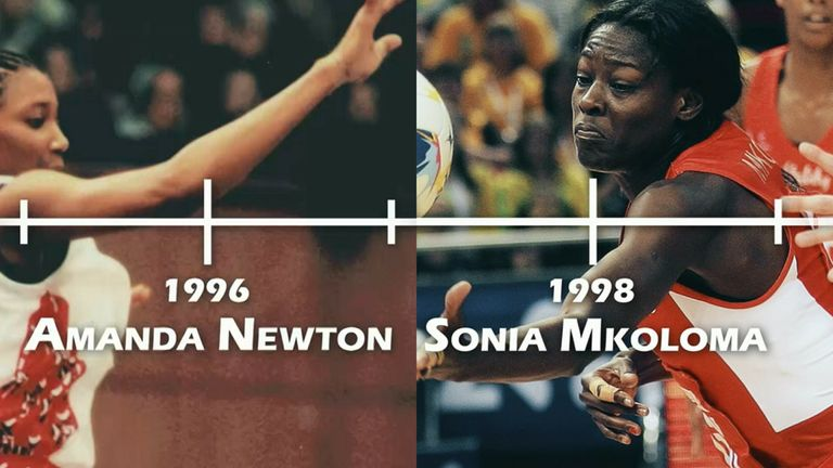 Amanda Newton and Sonia Mkoloma were fierce on court and neither was afraid to speak up off court